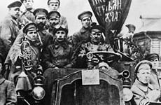 Activities mark 100th anniversary of Russian October Revolution