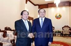 Vietnam-Laos information-communications cooperation applauded