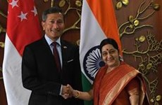 Singapore, India enhance bilateral ties