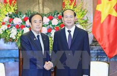 President reiterates Vietnam's policy of boosting ties with Japan