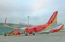 Vietjet Air calls off flights as Typhoon Damrey heads towards central coast