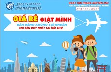 Discounted air tickets, tours offered at Hanoi tourism festival