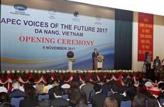APEC 2017 Voices of the Future opens in Da Nang