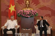 NA Vice Chairman receives Cuban guest