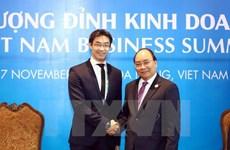 APEC 2017: PM receives WEF Managing Director