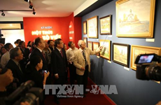Painting exhibition on Soviet Union opens in Hanoi
