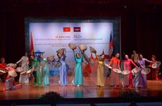 Exhibition featuring Cambodian culture opens in Hanoi