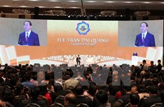 President addresses APEC 2017 CEO Summit