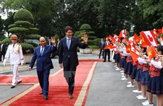 Vietnam, Canada establish comprehensive partnership