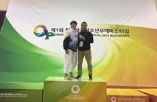 Vietnamese kurash artist wins gold at world event