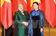 NA Chairwoman hosts Chilean President