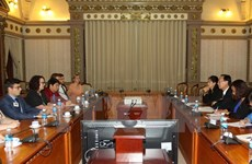 Australian Political Exchange Council's delegation welcomed in HCM City