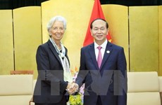 APEC 2017: State leader receives IMF Director General