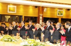 Banquet welcomes Chinese Party General Secretary Xi Jinping