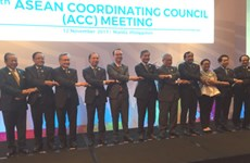 Ministers discuss final preparations for 31st ASEAN Summit
