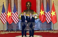 US White House issues statement on President Trump's Vietnam visit