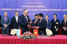 Vietnam, Luxembourg sign General Cooperation Agreement