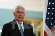 US Secretary of State visits Myanmar, seeking to ease Rohingya crisis