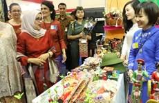 Vietnamese Embassy in Indonesia attends 50th WIC Bazaar