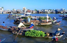 Floating markets in south-west Vietnam a sight to behold