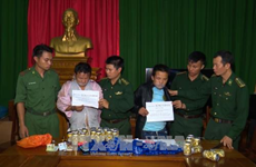 Drug traffickers arrested in central Thanh Hoa province