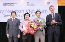 Vietnamese researchers win prestigious 2017 Newton Prize