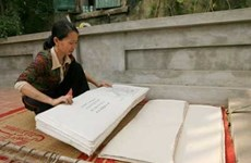 Ancient paper art returns to Hanoi's Yen Thai village
