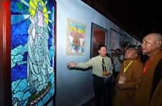Exhibition features contemporary Buddhism