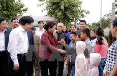 NA Chairwoman attends great national unity festival in Nghe An