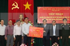 Laos provides relief to Phu Yen's storm victims