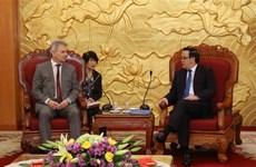Austrian trade union visits Vietnam to boost ties