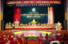 Vietnam Buddhist Sangha eighth congress opens in Hanoi