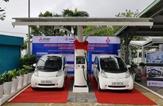 Vietnam's first station for e-vehicles opens in Da Nang