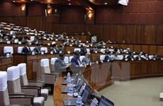 Cambodia parliament removes CNRP members
