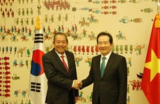 Deputy PM Binh meets top RoK legislator