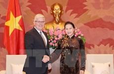 NA Chairwoman receives Australian Ambassador