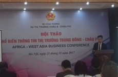 Seminar promotes trade to Middle East, Africa