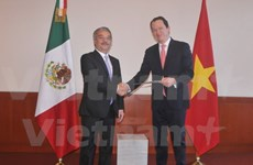 Newly-accredited Vietnamese Ambassador welcomed in Mexico