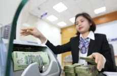 Reference exchange rate up by 10 VND