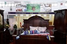 Furnishings on display in HCM City