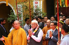 Vietnam Buddhism strengthens external affairs