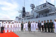 Royal Malaysian Navy ships visit Ho Chi Minh City