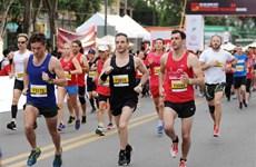 Over 5,000 runners join HCM City International Marathon