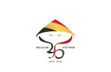 Student designs winning logo for Vietnam-Belgium ties