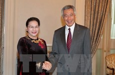 NA leader meets Singaporean PM