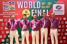 Vietnam champions at int'l golf tournament