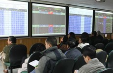VN stocks lifted further by large-caps