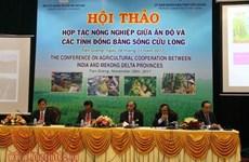 India boosts agricultural cooperation with Mekong Delta