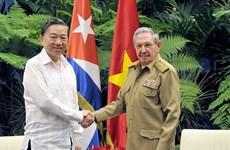 Vietnam, Cuba steps up security cooperation