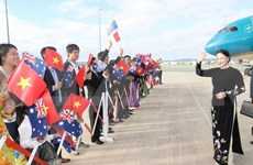 Vietnam's top legislator begins official visit to Australia